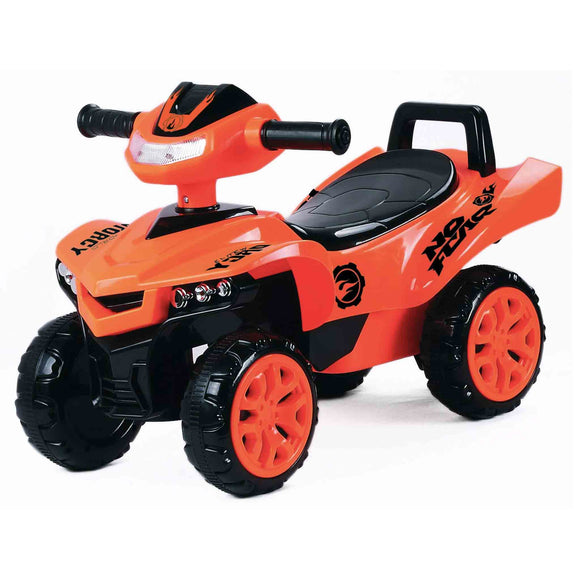 Toy House Racing Turbo Push ATV for Kids (1 to 3Yrs), Orange