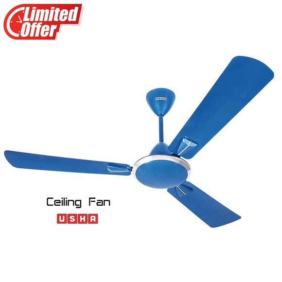 Usha Striker Galaxy 1200mm Ceiling Fan (Ultramarin Blue)