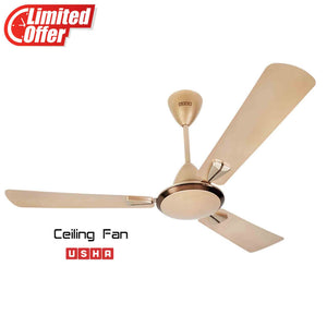 Usha Striker Galaxy 1200mm Ceiling Fan (Bright Gold)