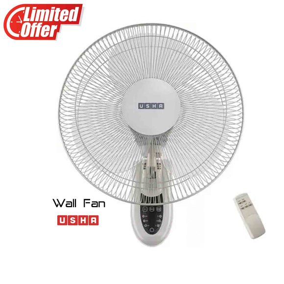 Usha Mist Air Ultra with remote Plastic Wall Fan