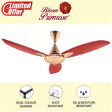 Usha Bloom Primrose 1250 mm 3 Blade Ceiling Fan