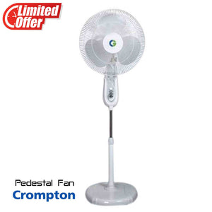 Crompton 400 mm High Flo Wave Pedestal Fan