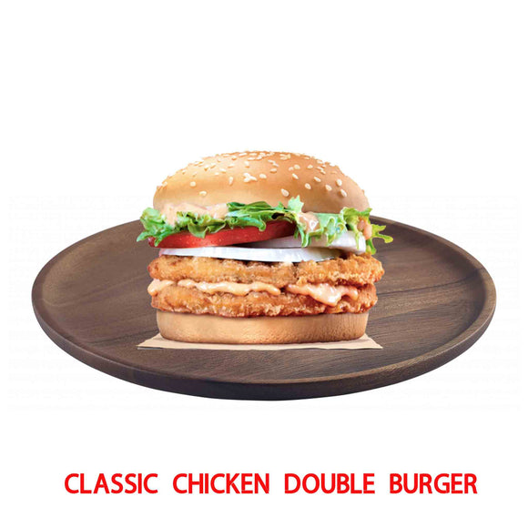 Classic Chicken Double Decker Burger