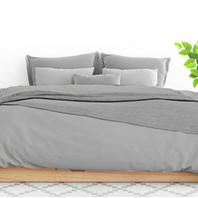 Alpha™ Sheets - Silver Duvet Cover