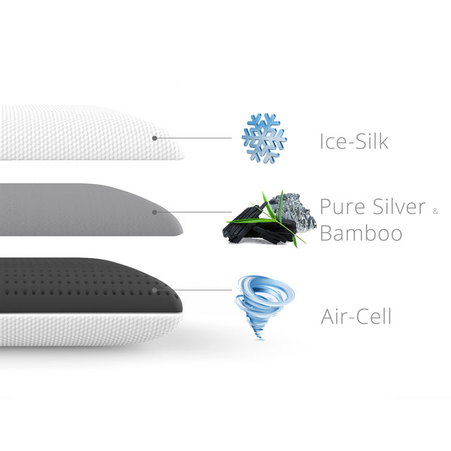 Alpha™ Pillow: Air Cell Tech x 4