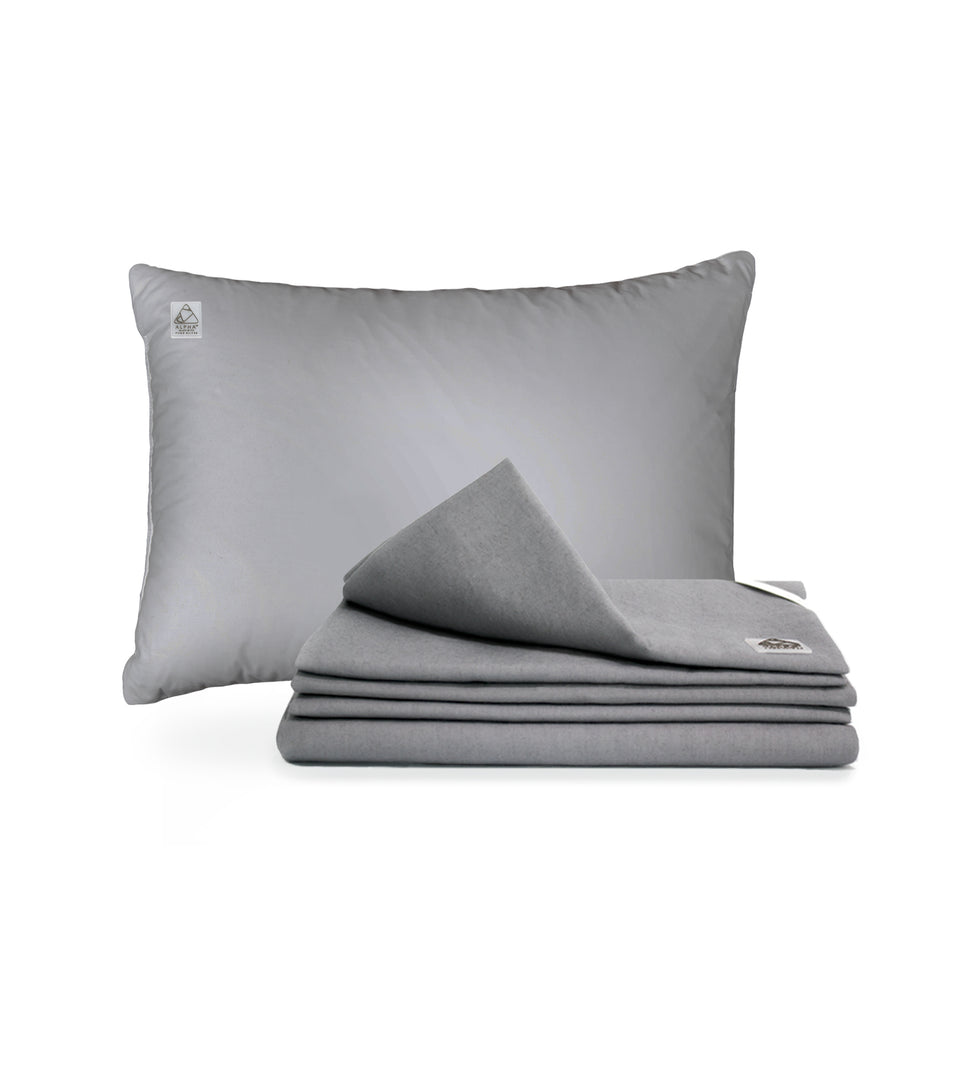 Alpha™ Sheets - Deluxe Silver Set