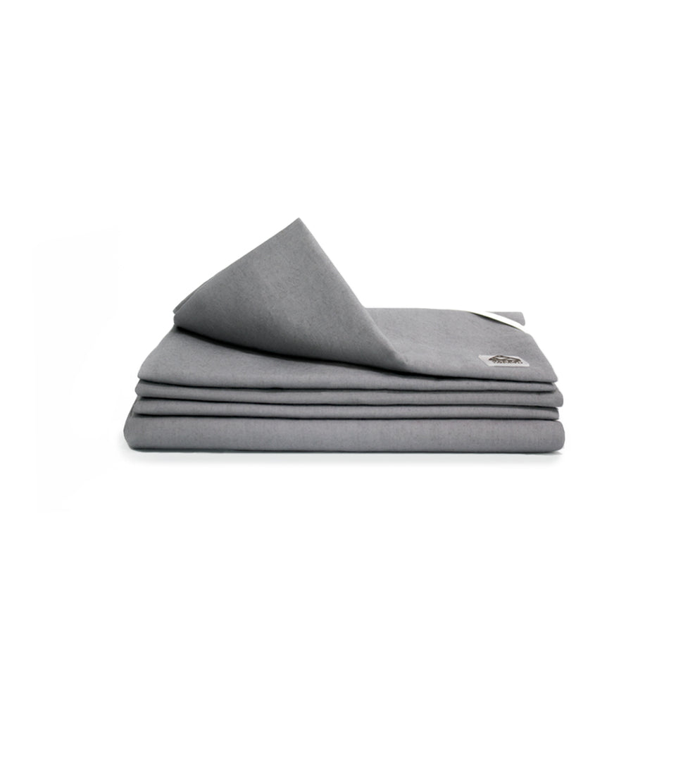 Alpha™ Sheets - Silver Bed Sheets