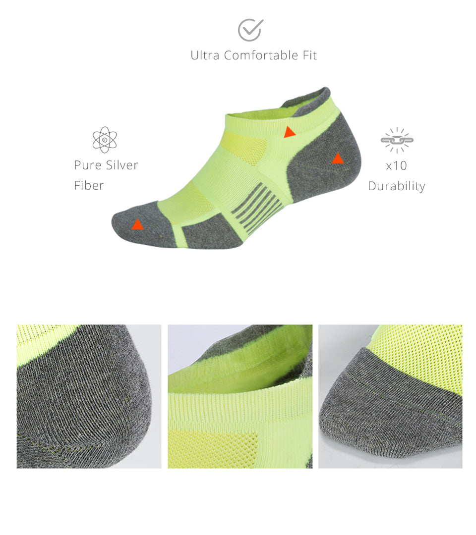 Rev™ Silver Socks for Odor, Bacteria and more