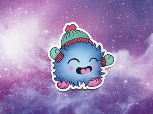 Winter Monster Sticker