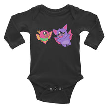 Bat-Boy and Robin Long Sleeve Bodysuit