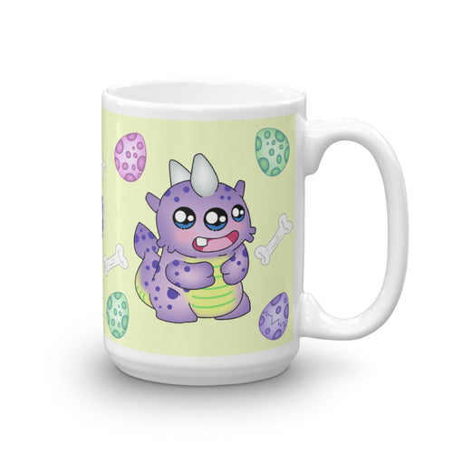 Dino Monster Mug - 15oz