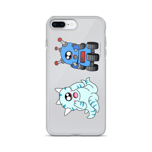 Squiblu & Blubot iPhone Case