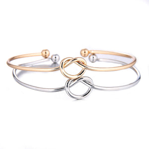 Tie the Knot Bangle Bracelet