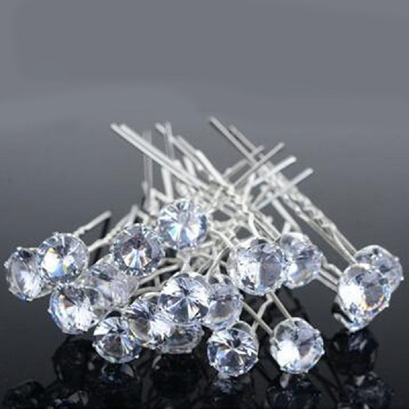 Crystal Rhinestone Hair Pins