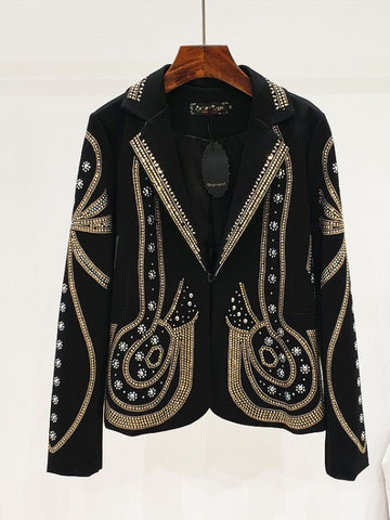 Mrs. Flocka | Embellished Blazer