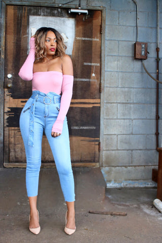 Hey Boo | High Waist Jeans