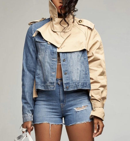 Don't Mess With Me | Denim Jacket