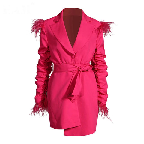 City Nights | Coat Dress