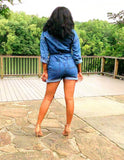 Denim Perfection | Denim Romper