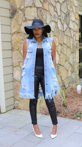 Cut It Up | Denim Vest