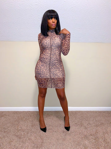 She's a Baddie | Mini dress