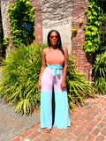 Sorbet Your Way | Jumpsuit w/Belt