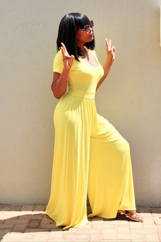 Sweet Canary | Wide Leg Jumpsuit