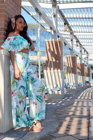 The Palms | Two piece set