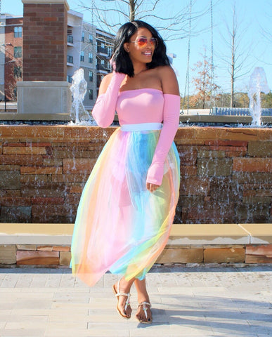 Unicorn Chic | Tulle Skirt