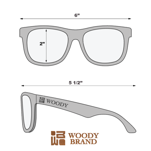 High Quality Bamboo Sunglasses