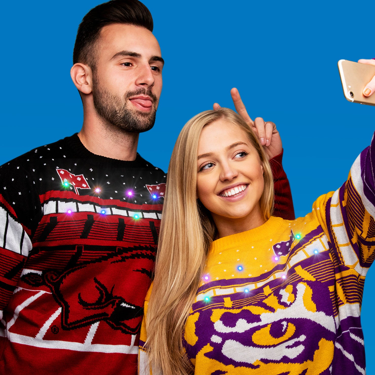 COOLEST SWEATERS<br> ON CAMPUS