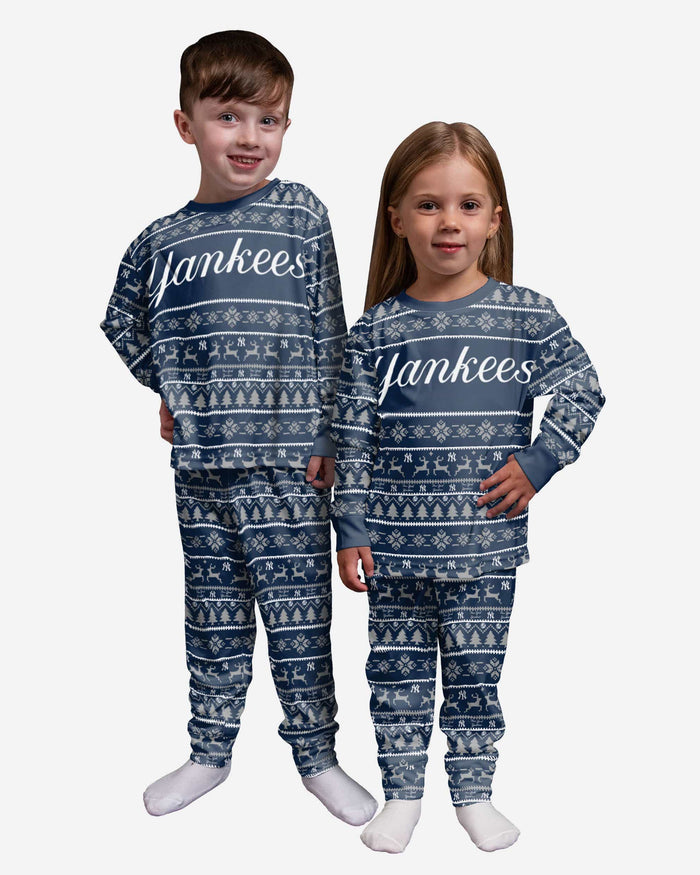 New York Yankees Toddler Family Holiday Pajamas FOCO 2T - FOCO.com