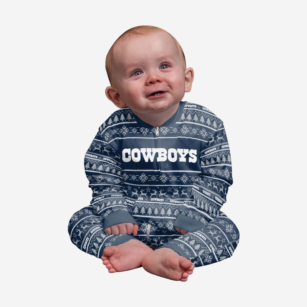 Dallas Cowboys Infant Family Holiday Pajamas FOCO 12 mo - FOCO.com