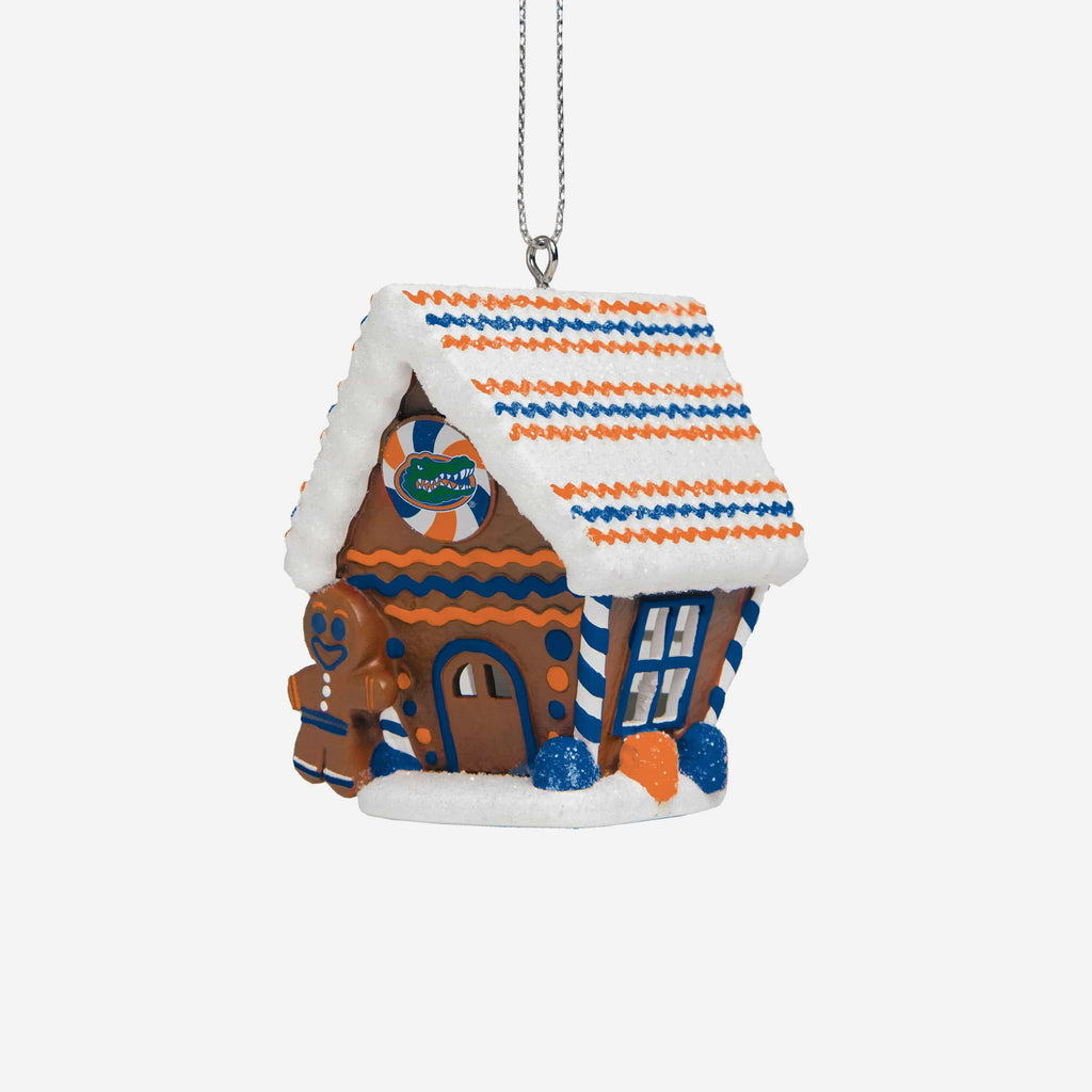 Florida Gators Gingerbread House Ornament FOCO - FOCO.com