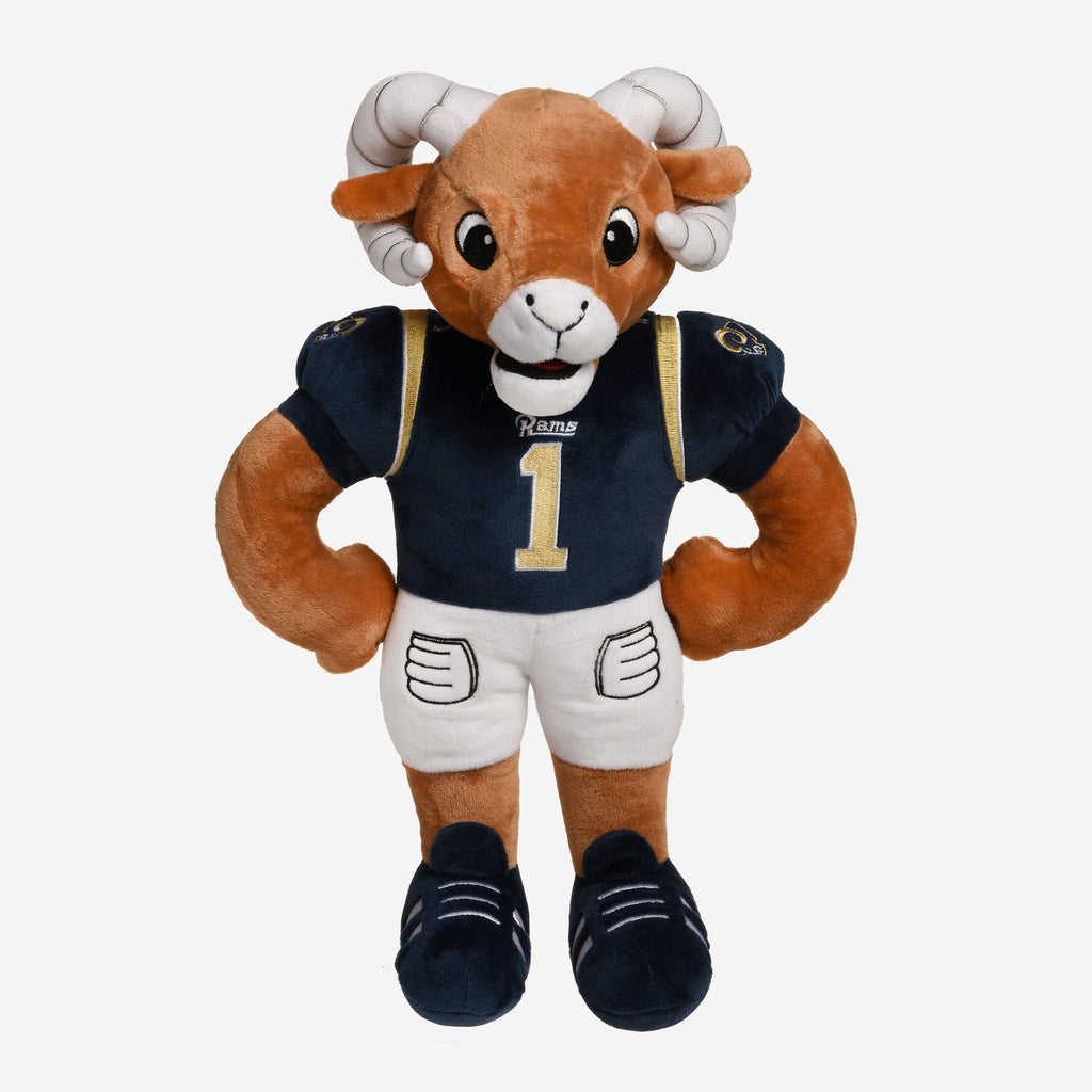 Los Angeles Rams Plush Mascot FOCO - FOCO.com