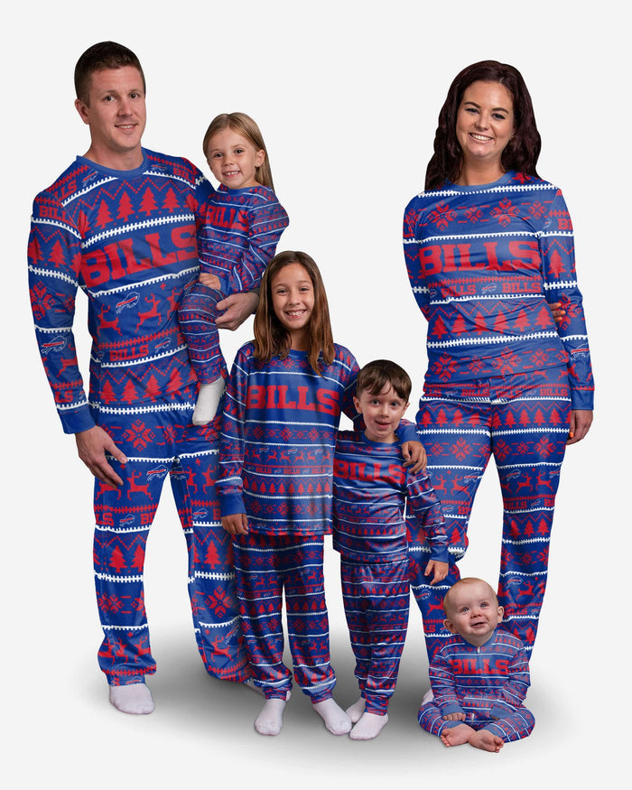 Buffalo Bills Family Holiday Pajamas FOCO - FOCO.com