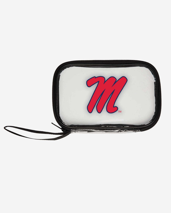 Ole Miss Rebels Clear Wristlet FOCO - FOCO.com
