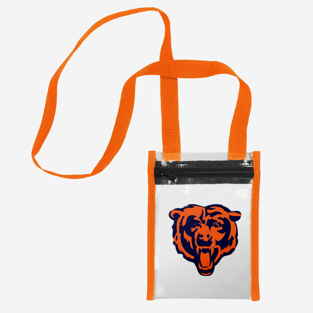 Chicago Bears Clear Crossbody Tote Bag FOCO - FOCO.com