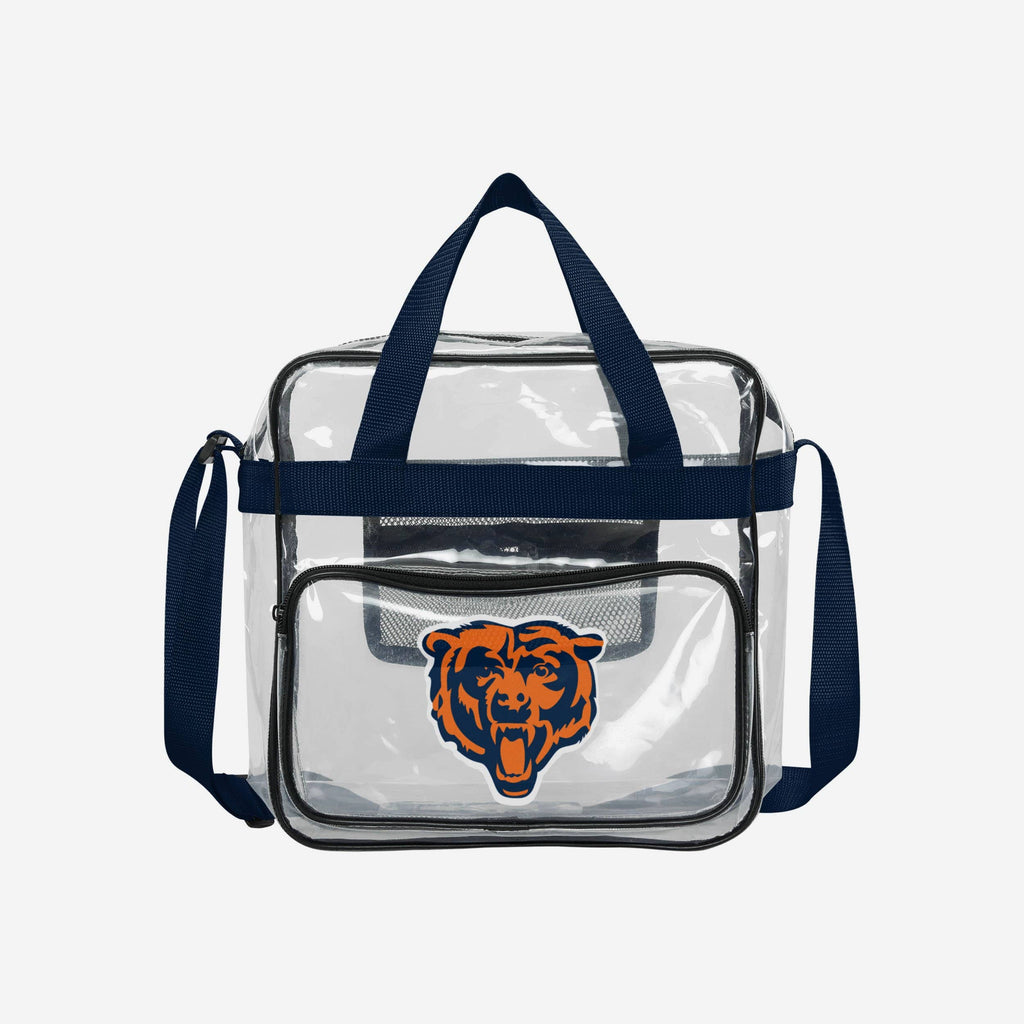 Chicago Bears Clear High End Messenger Bag FOCO - FOCO.com