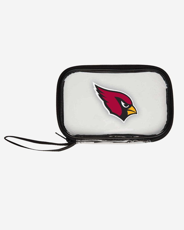 Arizona Cardinals Clear Wristlet FOCO - FOCO.com