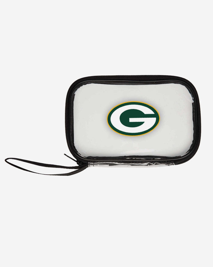 Green Bay Packers Clear Wristlet FOCO - FOCO.com
