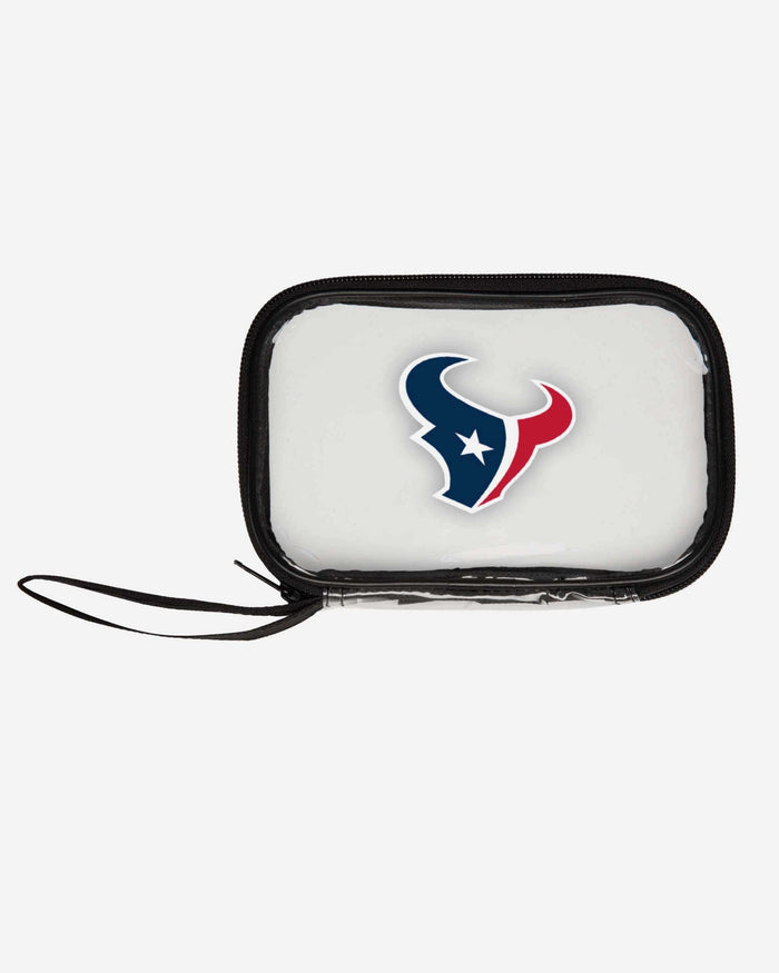 Houston Texans Clear Wristlet FOCO - FOCO.com