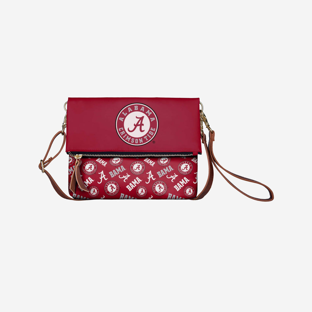 Alabama Crimson Tide Printed Collection Foldover Tote Bag FOCO - FOCO.com