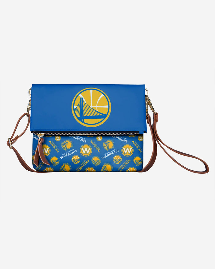 Golden State Warriors Printed Collection Foldover Tote Bag FOCO - FOCO.com