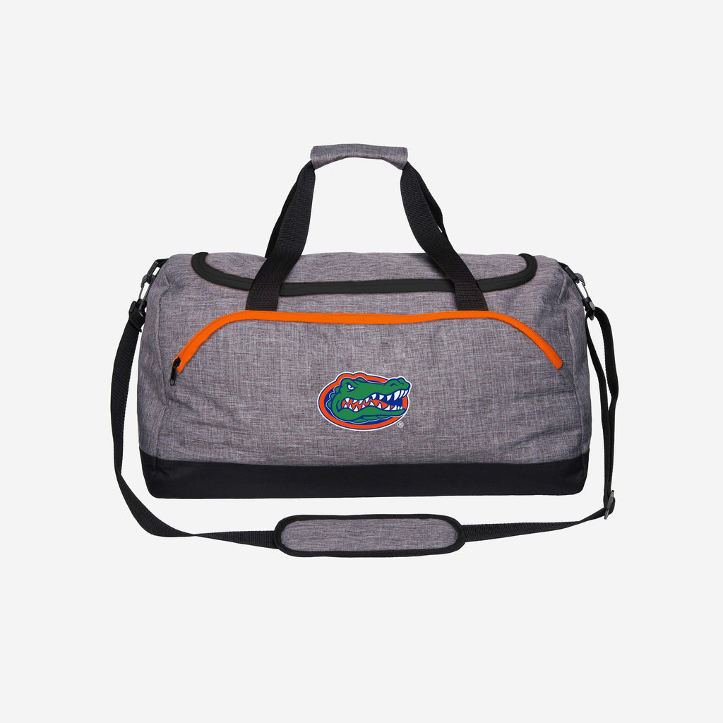 Florida Gators Heather Grey Bold Color Duffle Bag FOCO - FOCO.com