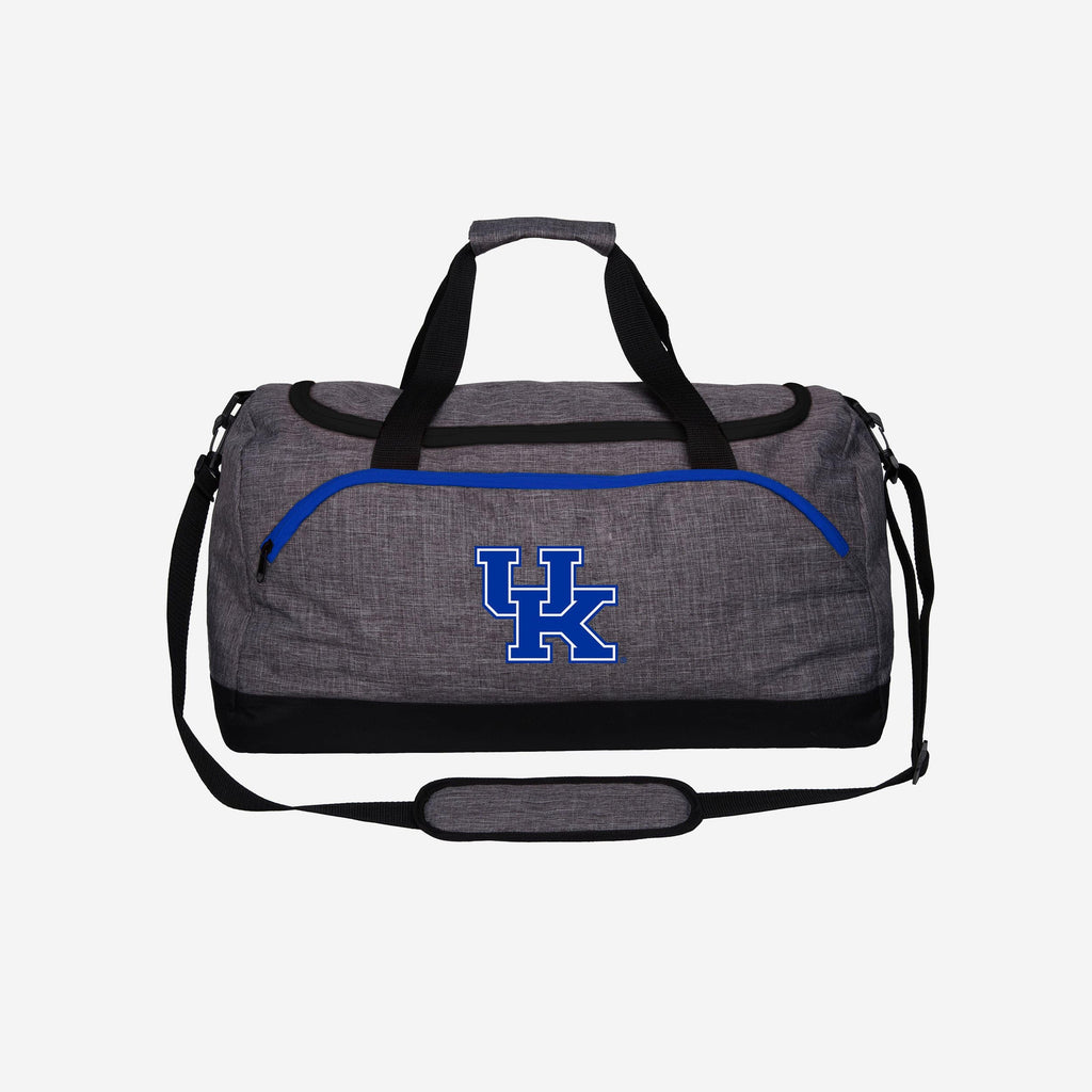 Kentucky Wildcats Heather Grey Bold Color Duffle Bag FOCO - FOCO.com