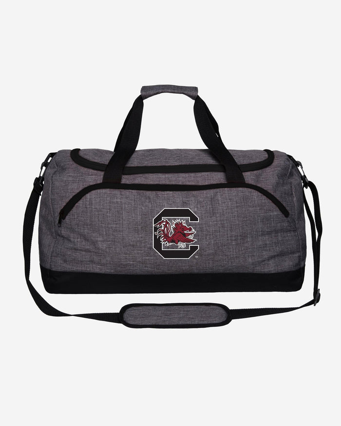 South Carolina Gamecocks Heather Grey Bold Color Duffle Bag FOCO - FOCO.com