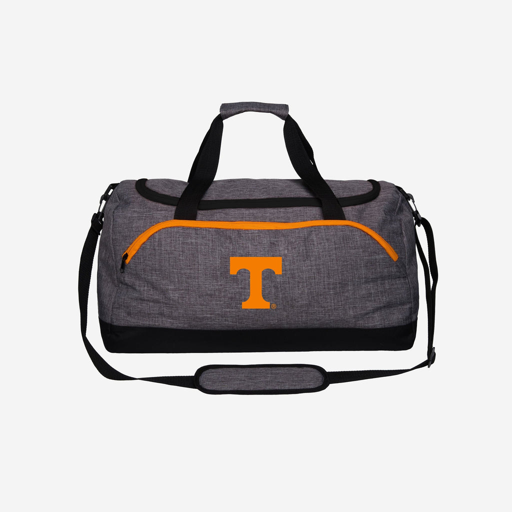 Tennessee Volunteers Heather Grey Bold Color Duffle Bag FOCO - FOCO.com