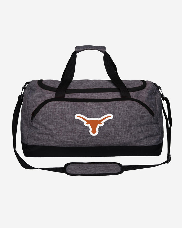 Texas Longhorns Heather Grey Bold Color Duffle Bag FOCO - FOCO.com