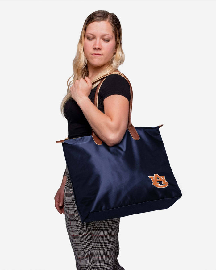 Auburn Tigers Bold Color Tote Bag FOCO - FOCO.com